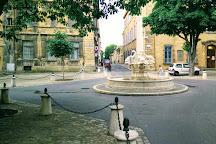 Fontaine des Quatre-Dauphins, Aix-en-Provence, France