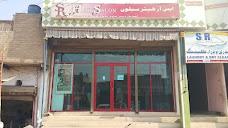 SR Hair Saloon Ahmad Plaza bhains Colony Larkana
