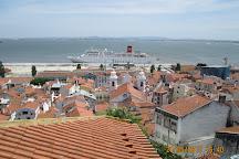 Terminal de passageiros de Santa Apolonia, Lisbon, Portugal