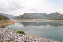 Khun Dan Prakan Chon Dam, Nakhon Nayok, Thailand
