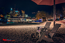 Canada's Sugar Beach, Toronto, Canada