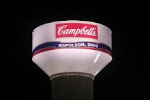 Campbell's Soup Supply Co - Giant Tomato Soup Can, Napoleon, United States