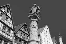 St. Georgs Brunnen, Rothenburg, Germany