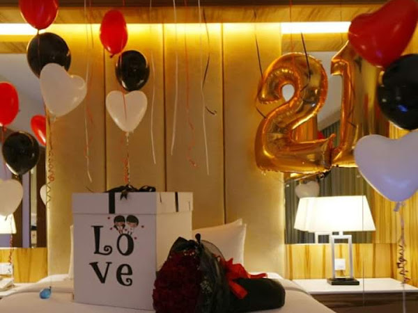 Romantic Candle Light Dinner Anniversary Birthday Decoration Moves Serpris By Ansh Event Groups