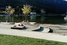 Plage Municipale du Bourget du Lac, Le Bourget-du-Lac, France