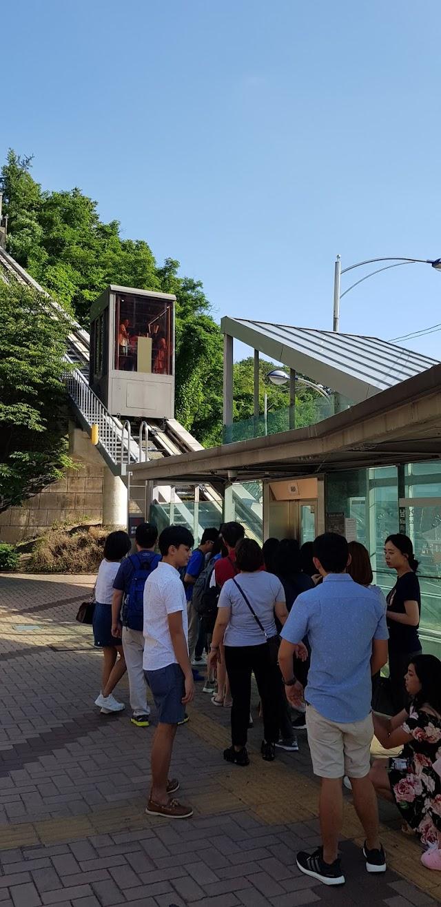 Namsan Ormi Elevator (Bottom Entrance)