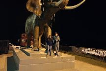 Jumbo The Elephant Monument, Saint Thomas, Canada