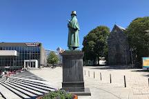 Statue of Alexander Kielland, Stavanger, Norway