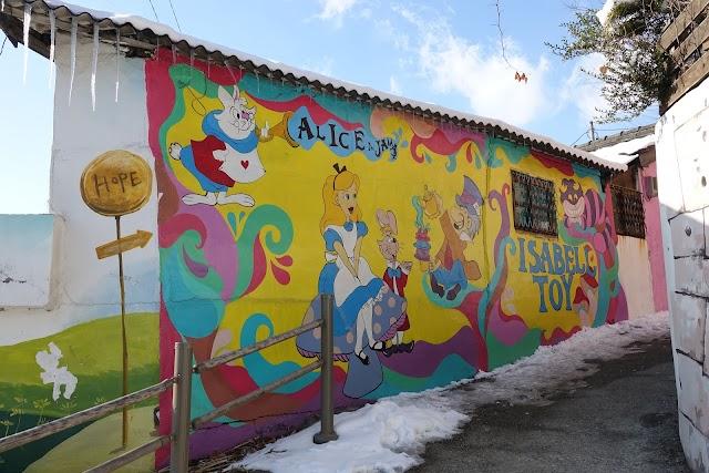 Jaman mural village