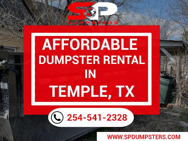 Dumpster Rental Temple TX - S&P Dumpsters