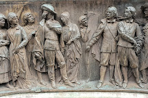 Monument Calderon de la Barca, Madrid, Spain