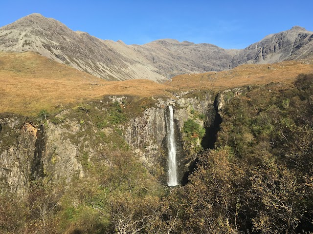 Eas Mòr Waterfall