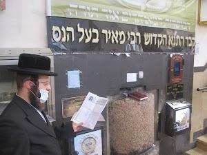 Rebbe Meir Ball Hanes Charities