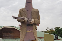 The Big Ned Kelly Statue, Glenrowan, Australia