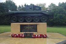The Desert Rat Memorial, Thetford, United Kingdom