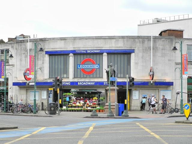 Tooting Broadway London Underground Station