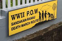 Sandakan Memorial Park, Sandakan, Malaysia