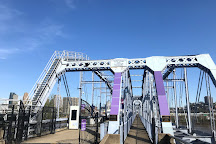 Newport Southbank Bridge a.k.a. Purple People Bridge, Newport, United States