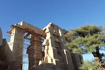 Ramesseum (Mortuary Temple of Ramses II), Luxor, Egypt