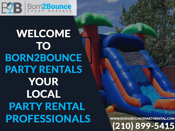 Born2Bounce Party Rental