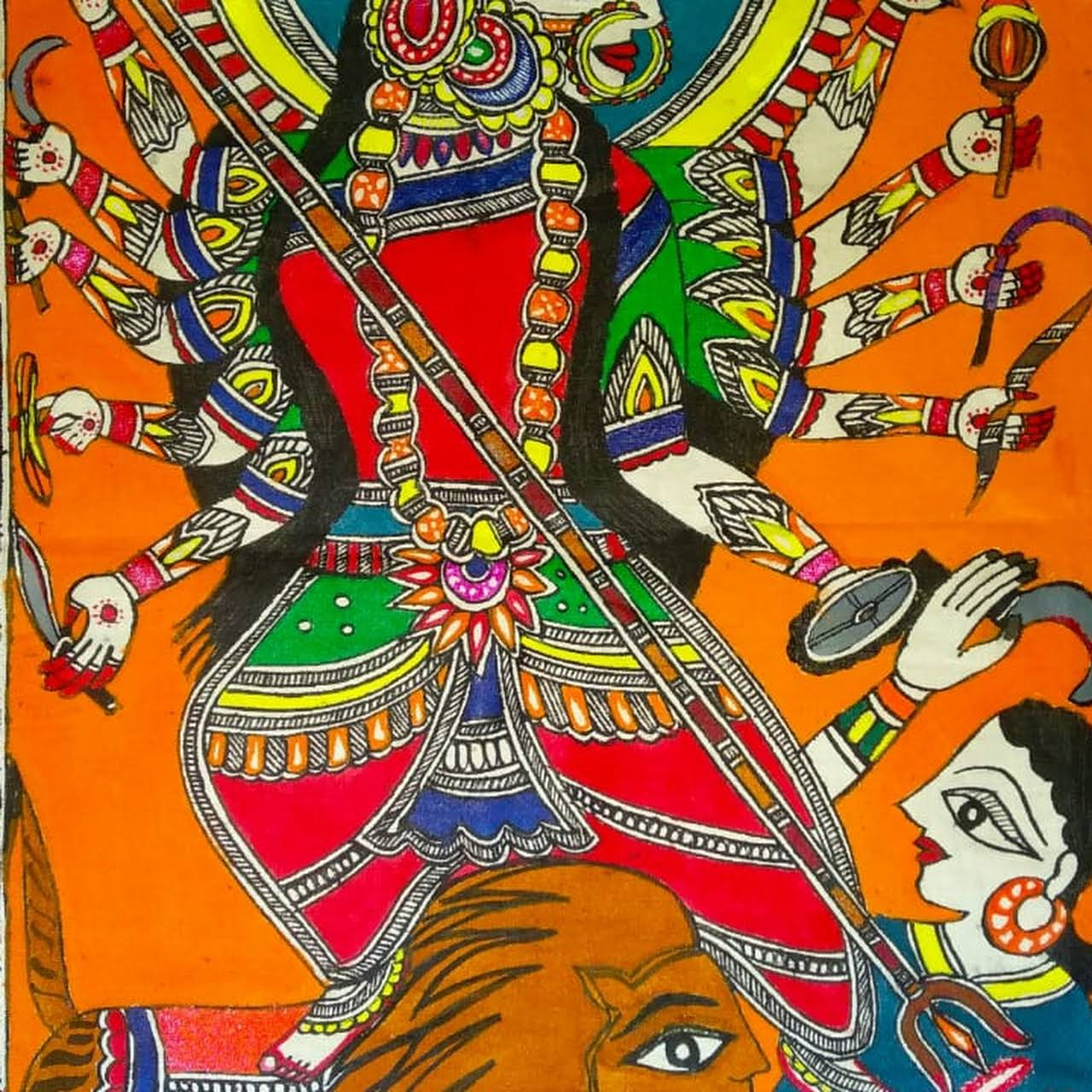 Mithila Art Gallery Mithila Madhubani Painting Madhubani Art Mithila Artpaintings Handmade Art And Craft Wall Painting Art And Artist Madhubani Painting Hand Made Painting Wall Painting