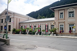 Железнодорожная станция  Bad Gastein