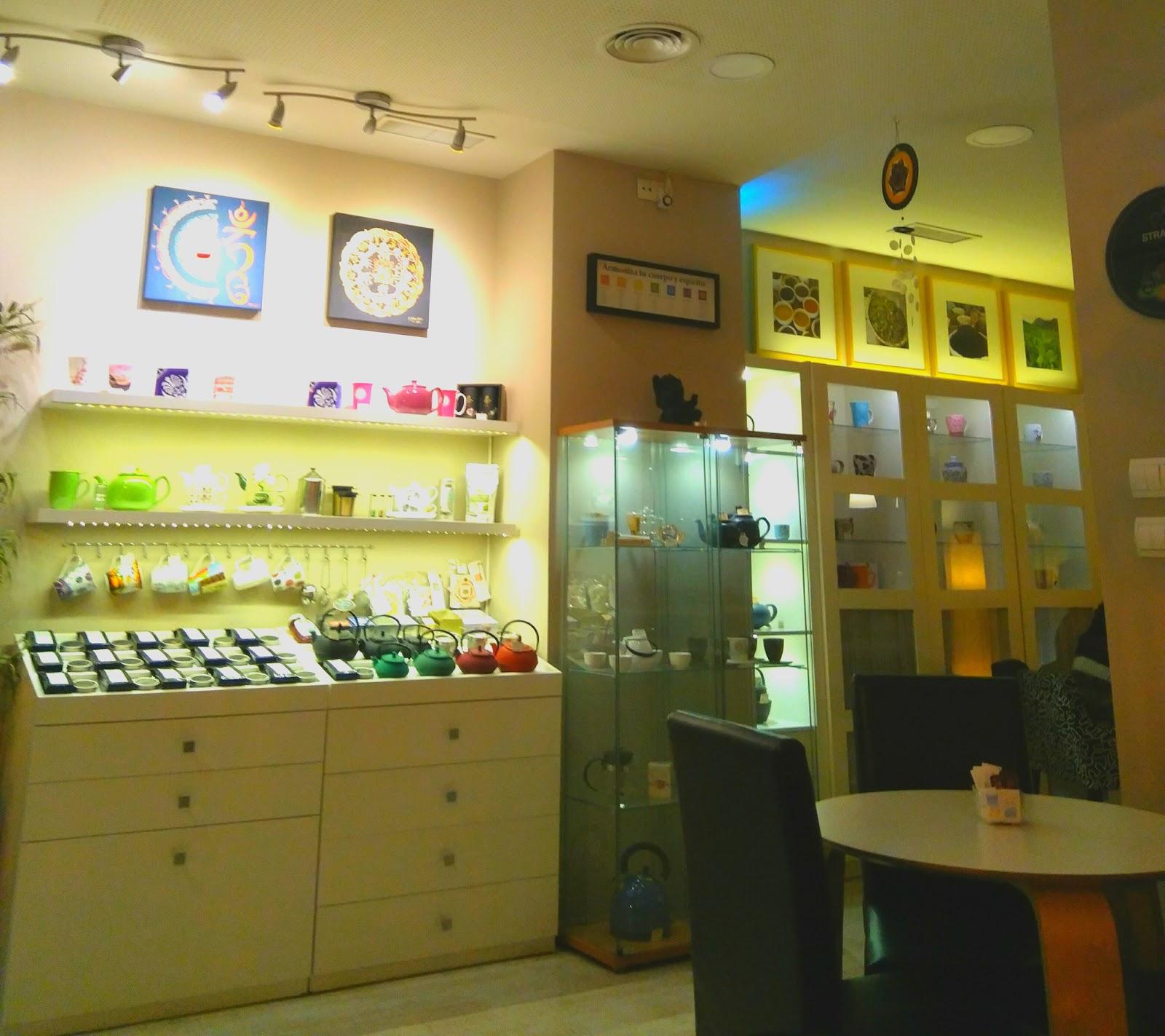 Conté Tetería - Tea Shop: A Work-Friendly Place in Valencia