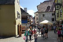 Latrán houses, Cesky Krumlov, Czech Republic