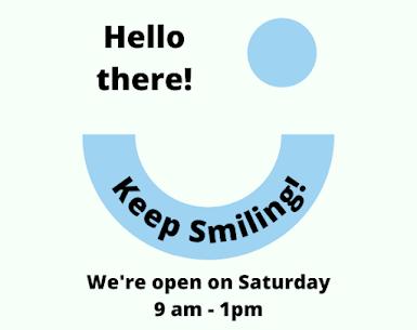 Sloan Creek Dental is Open on Saturday