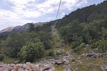 Zipline Edison, Baska, Croatia