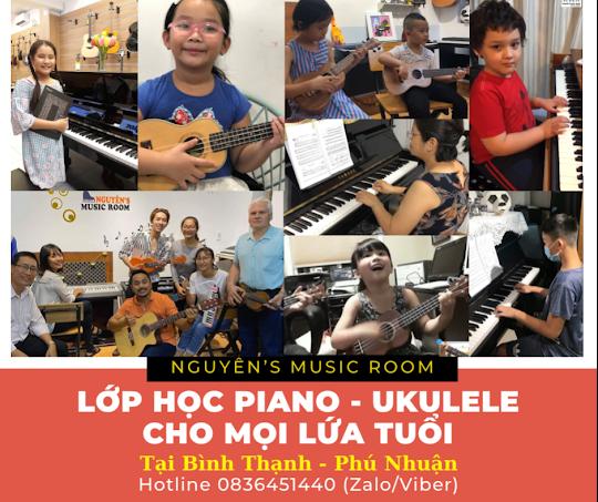 DẠY KÈM ĐÀN PIANO - UKULELE tại Phú Nhuận Bình Thạnh