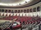 Congress Hall на фото города Варшава