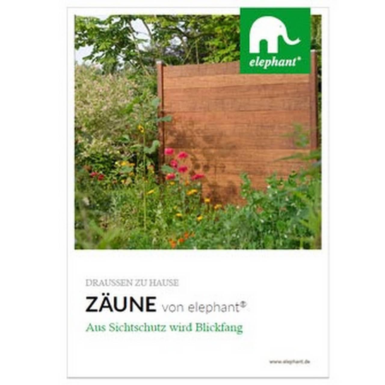 Elephant Zn Der Klopferholz Gmbh Co Kg Terrassen Zaune