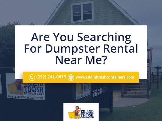 Dumpster Rental Newport, NC - Island Trash Containers