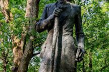 Monument to Kristjan Jaak Peterson, Tartu, Estonia