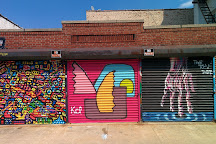 Welling Court Mural Project, Astoria, United States