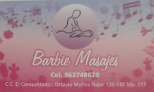 BARBIE MASAJES 0