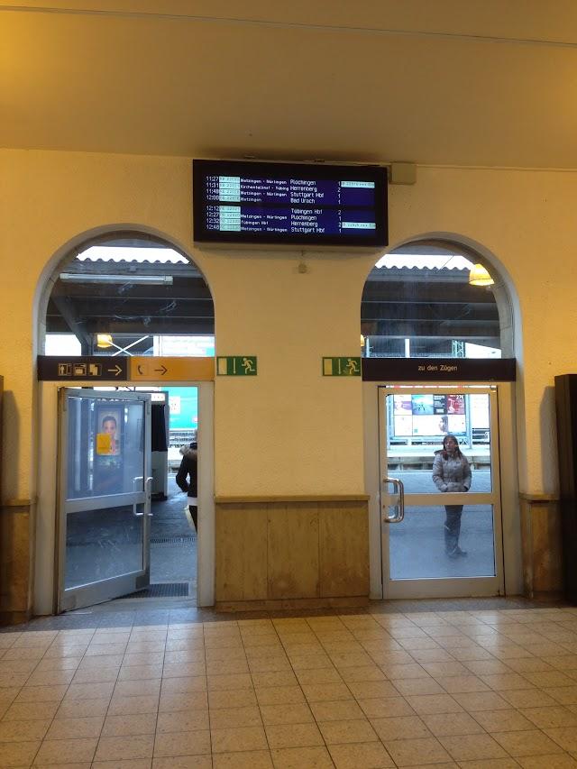 Reutlingen, Hauptbahnhof