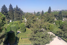 Jardines de Sabatini, Madrid, Spain