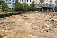 Archaeological site Kotzia Square, Athens, Greece