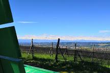 Panchina Gigante Verde Smeraldo, Neive, Italy