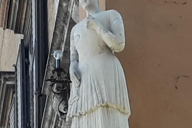 La Statua della Bonissima, Modena, Italy
