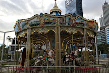 Elizabeth Quay Carousel, Perth, Australia