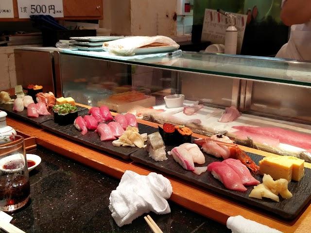 Sushi Nomidori Shibuyaten