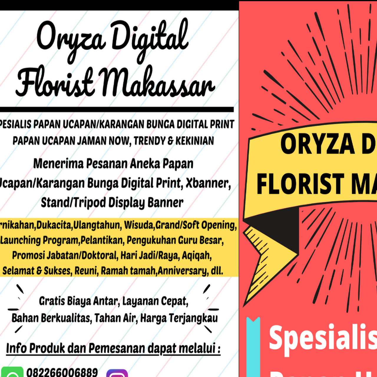 Oryza Digital Florist Makassar Toko Bunga