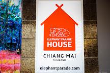 Elephant Parade House, Chiang Mai, Thailand