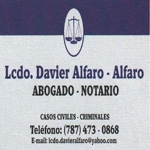 Abogado-Notario-Attorney-Notary-Lcdo.Davier Alfaro Alfaro