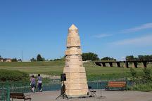 Flood Memorial Monument, Grand Forks, United States