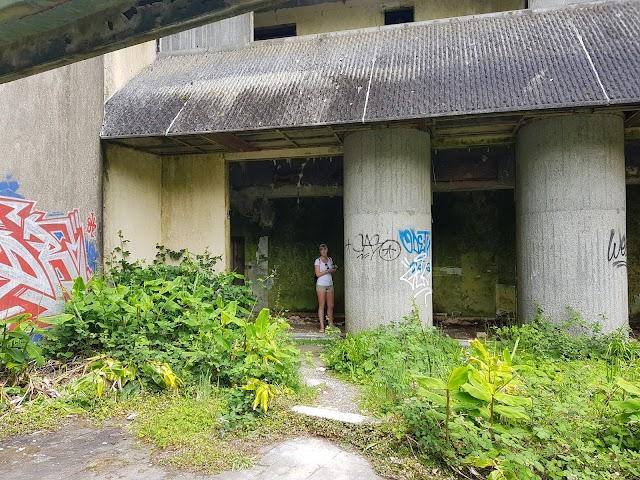 Hotel abandonado - Monte Palace