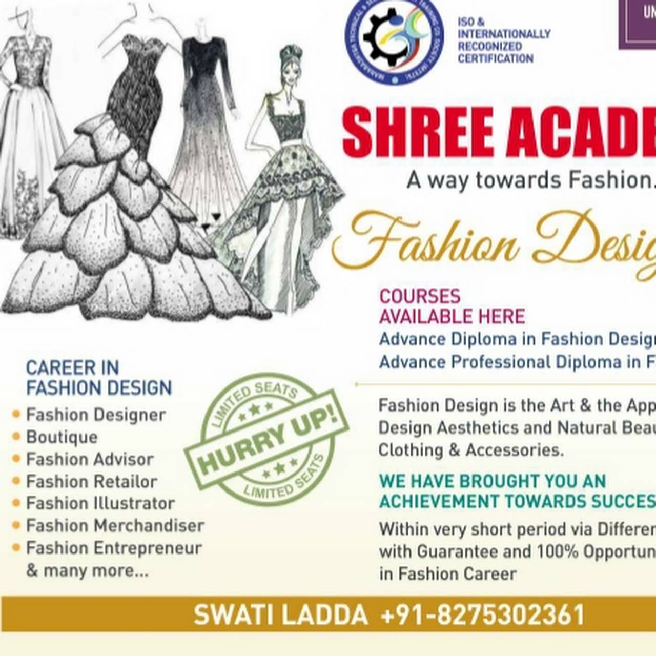 Shree Academy Modern Fashion Designing Institute Fashion Design School In Solapur